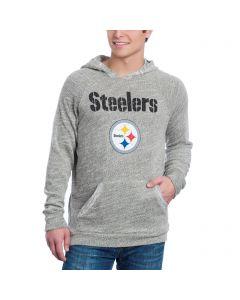 Pittsburgh Steelers Tri-Yarn Wordmark Fleece Hoodie
