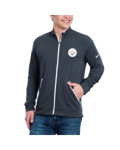 Pittsburgh Steelers Nike Dri-FIT Touch Full Zip Sweatshirt