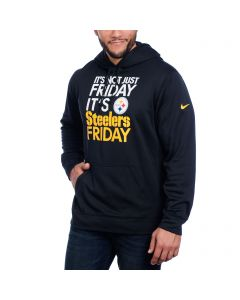 Pittsburgh Steelers Nike Not Just Friday Black Sweatshirt