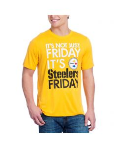 Pittsburgh Steelers Nike Dri-FIT Not Just Friday Gold Shortsleeve T-Shirt