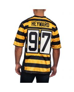 Cameron Heyward #97 Men's Nike Limited Throwback Jersey