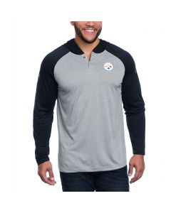 Pittsburgh Steelers Under Armour NFL Combine Authentic Tech Grey Hoodie
