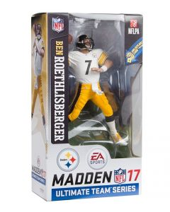 Pittsburgh Steelers #7 Ben Roethlisberger Away Jersey Figurine