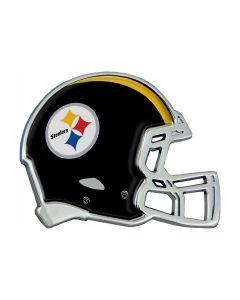 Pittsburgh Steelers Chrome Helmet Car Emblem