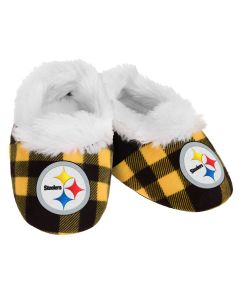 Pittsburgh Steelers Small Flannel Baby Bootie Slipper