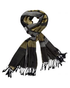 Pittsburgh Steelers Plaid Pashmina Scarf