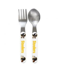 Pittsburgh Steelers Spoon & Fork Set