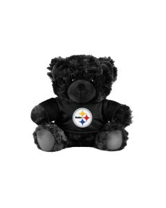 Pittsburgh Steelers Black Bear Plush Doll