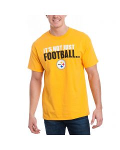 EXCLUSIVE Pittsburgh Steelers It's Not Just Football Gold T-Shirt
