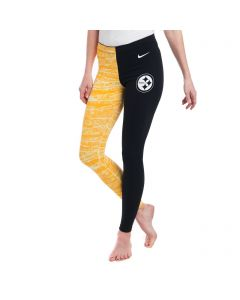 Pittsburgh Steelers Nike Women's Leg-A-See Tight Black & Gold