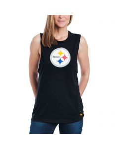 Pittsburgh Steelers Nike Women's Logo Muscle Tank
