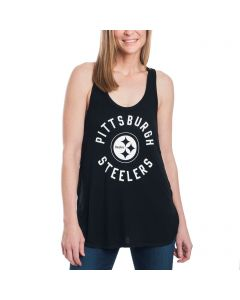 Pittsburgh Steelers Women's Touch Colorblocked Equalizer Tank