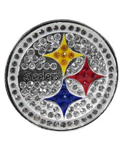 Pittsburgh Steelers Crystal Logo Lapel Pin