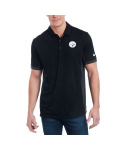 Pittsburgh Steelers Nike Evergreen Black Polo