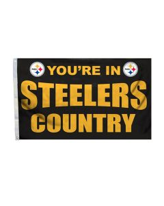 Pittsburgh Steelers Country 3' x 5' Flag