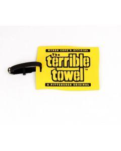 Pittsburgh Steelers Terrible Towel Luggage Tag