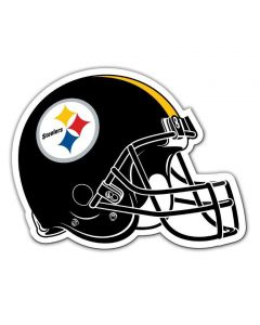 "Pittsburgh Steelers 8"" Helmet Design Magnet"