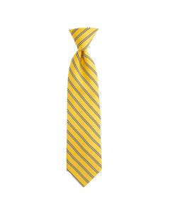 Pittsburgh Steelers Vineyard Vines Gold with Black Stripes Silk Tie