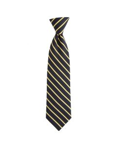 Pittsburgh Steelers Vineyard Vines Black with Gold Stripes Silk Tie