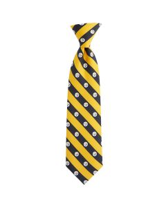 Pittsburgh Steelers Vineyard Vines Logo Stripes Silk Tie