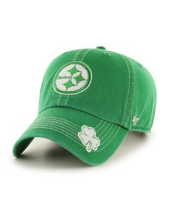 Pittsburgh Steelers '47 CLEAN UP St. Patrick's Day Cap