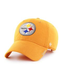 Pittsburgh Steelers '47 Women's Gold Sparkle CLEAN UP Cap