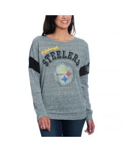 Pittsburgh Steelers Women's Pregame Long Sleeve T-Shirt