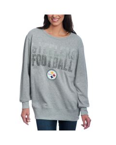 Pittsburgh Steelers Women's Game Time Fleece Crew