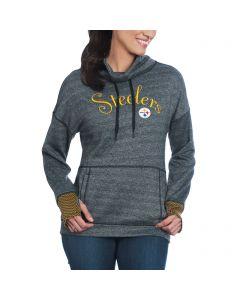 Pittsburgh Steelers Women's Snap Funnel Hoodie