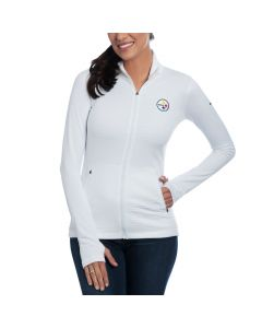 Pittsburgh Steelers Nike Women's Azalea Full Zip Top