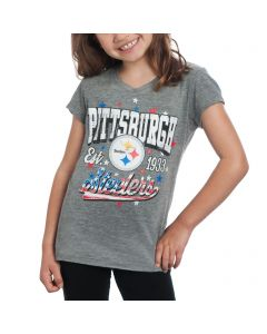 Pittsburgh Steelers Girl's Patriotic T-Shirt