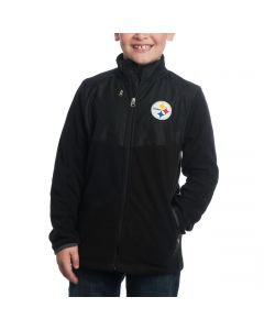 Pittsburgh Steelers Youth Full Zip Jacket