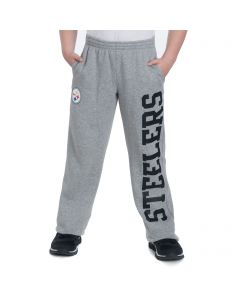Pittsburgh Steelers Boys Grey Tailgate Pants