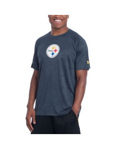 Pittsburgh Steelers Under Armour NFL Combine Short Sleeve Tech Novelty Jaquard T-Shirt