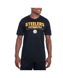 Pittsburgh Steelers Nike Legend Staff Black Tee 2017