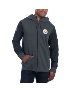 Pittsburgh Steelers Nike Full Zip Travel Hoodie