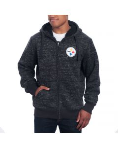 Pittsburgh Steelers GIII Discovery Mediumweight Jacket
