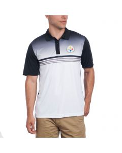 Pittsburgh Steelers Cutter & Buck Jefferson Print Polo