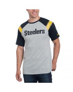 Pittsburgh Steelers Nike Enzyme Shoulder Stripe T-Shirt