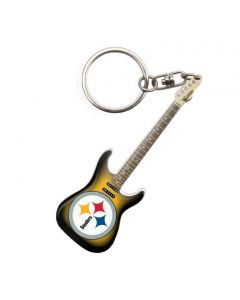 Pittsburgh Steelers Guitar Keychain