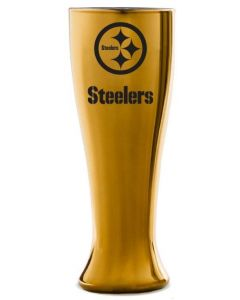 Pittsburgh Steelers Gold Glass Glacier Pilsner
