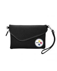 Pittsburgh Steelers Fold Over Pebble Purse