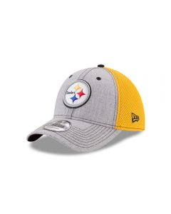 Pittsburgh Steelers New Era 39THIRTY Heathered Neo 2 Cap