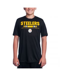 Pittsburgh Steelers Boy's Nike Youth Sideline Legend Staff T-Shirt