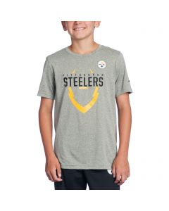 Pittsburgh Steelers Boys Icon Grey T-Shirt
