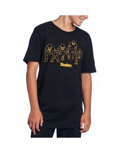 Pittsburgh Steelers Boy's Formation Short Sleeve T-Shirt