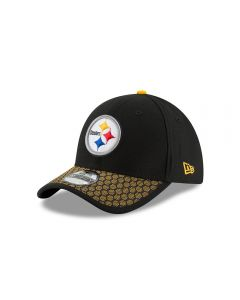 Pittsburgh Steelers New Era 39THIRTY Toddler Jr. Sideline Cap
