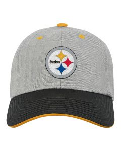 Pittsburgh Steelers Youth Chainstitch Heather Slouch Legacy Cap