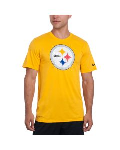 Pittsburgh Steelers Nike Legend Logo Essential 3 Gold T-Shirt