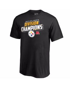 Pittsburgh Steelers 2017 AFC North Champs Short Sleeve T-Shirt
